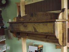 Хранения стены блок деревянная вешалка перчатка для хранения настенные полки сосна