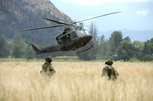 Canadian Special Operations Regiment. Near Kamloops BC Canada