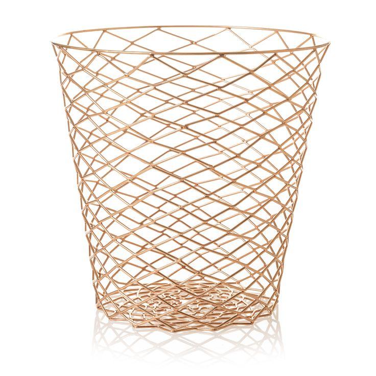 Copper Wire Bin | Oliver Bonas