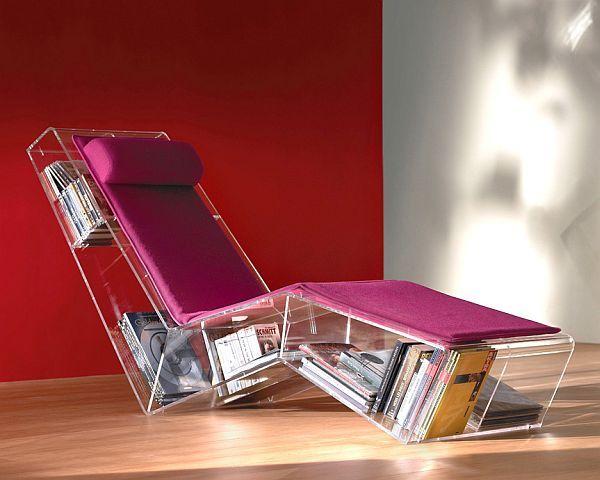 Les 25 meilleures id es concernant fauteuil transparent sur pinterest chais - Fauteuil lecture design ...
