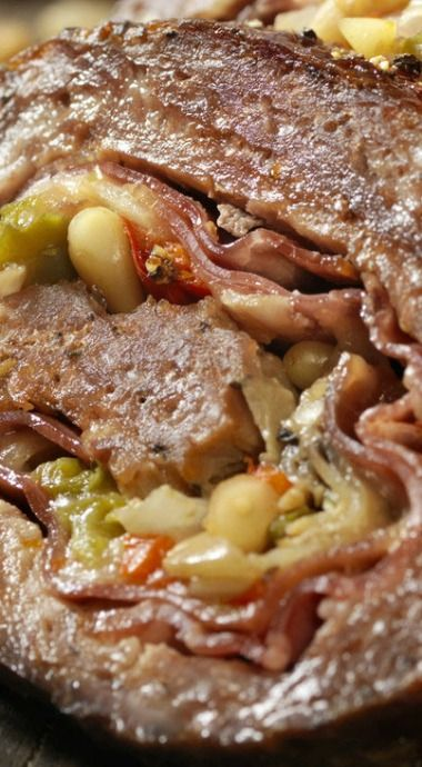 Rouladen-Style Italian Meat Loaf