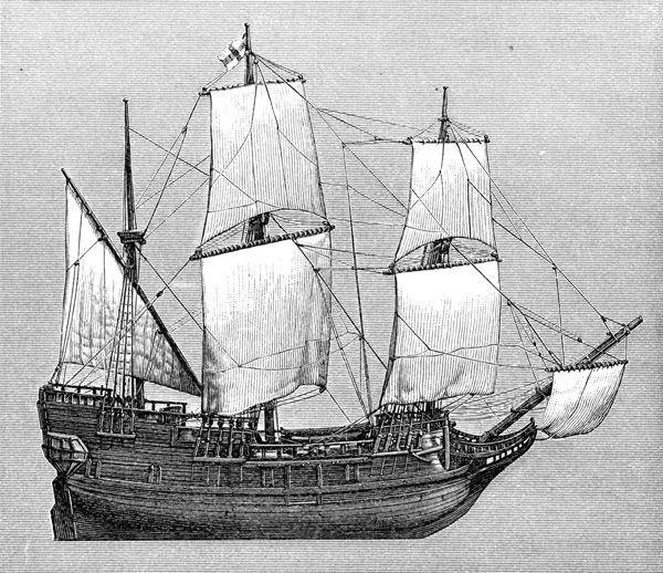 mayflower boat coloring pages - photo#35