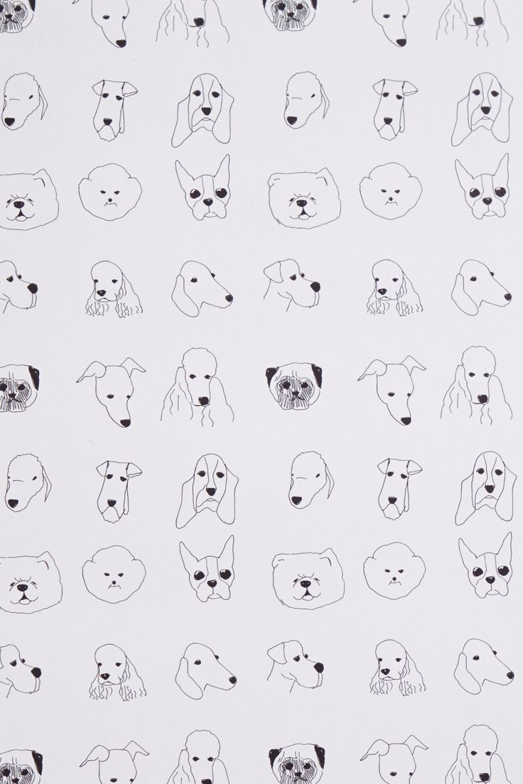 Dogs Wallpaper - Anthropologie.com