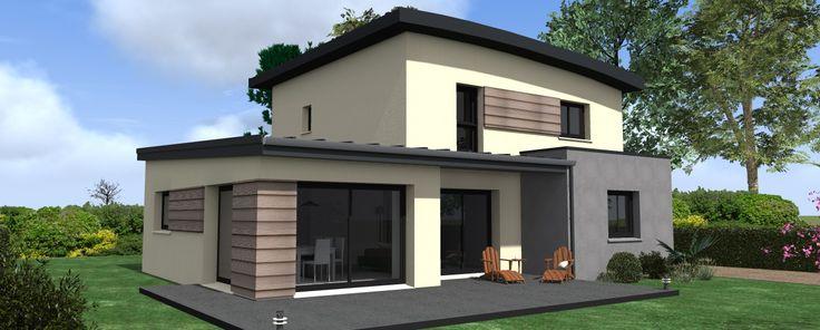 Surface de la Construction : 131.52m2 Nombre de Chambres : 4 dont 1 suite parentale au RdC Pièce de vie de 54.64 m² Plus : 1 bureau au RdC Surface du Garage : 23.20 m2