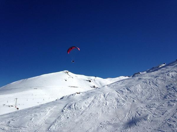 Parapente en Valle Nevado