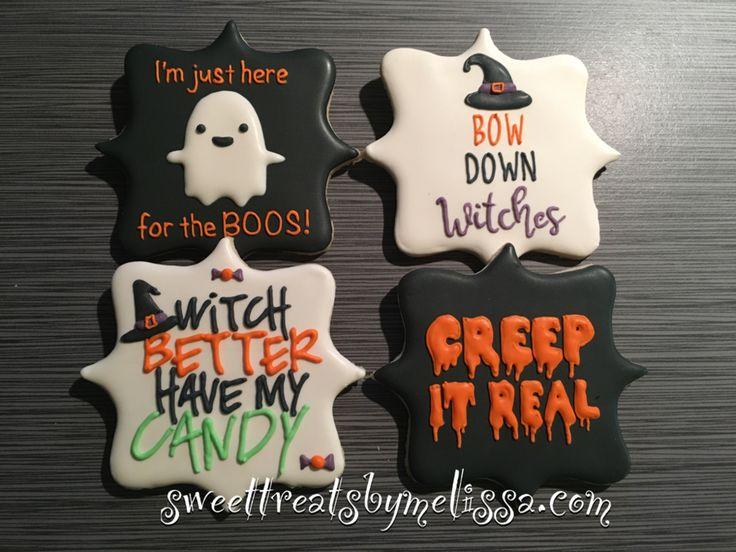 Pinky Halloween Cookies
