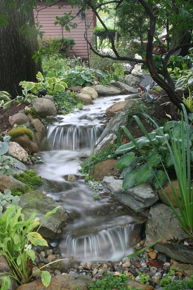 1000 images about ponds waterfalls on pinterest for Garden pond waterfalls for sale