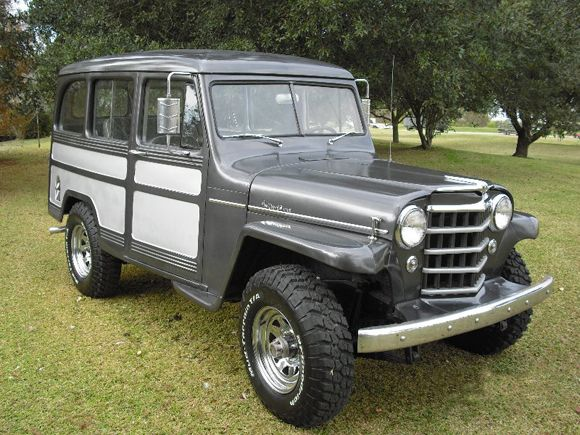 """Willy's Wagons are the coolest.  I would love to have one with an updated powertrain (read """"fuel injected Buick V6"""") and redone interior for everyday driving.  My wife's Jeep Liberty will have to do until I win the lottery..."""