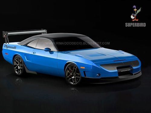 Plymouth Superbird Concept This Would Be Soooo Sweet