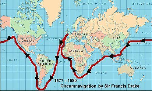 Tudor Explorers (including cirumnavigation by Sir Francis Drake)