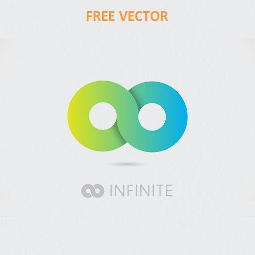 Логотип бесконечности вектор eps скачать