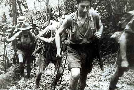 The last Japanese hold in the area was Sananda, which fell on 22 Jan 1943 after running out of food. Again, evidences of cannibalism were found among Japanese soldiers. With the region secured, the conclusion of the battle also ended Japanese resistance on and near the Kokoda Trail.-Australian Soldiers on the Kokoda Track 1943