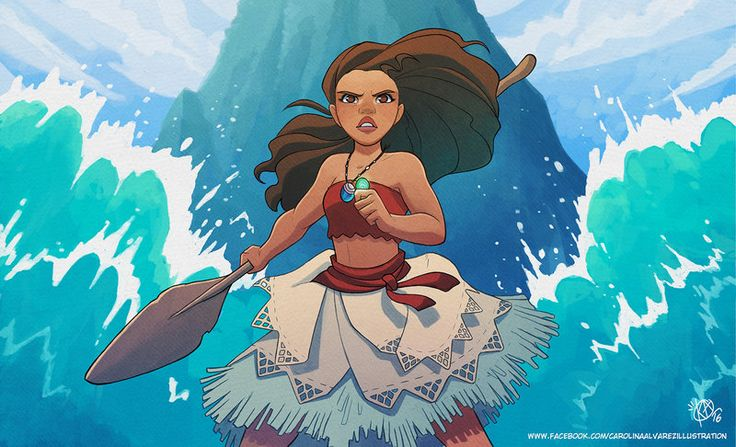 Pinup Arena • kaiselart: I am Vaiana! by Kaisel