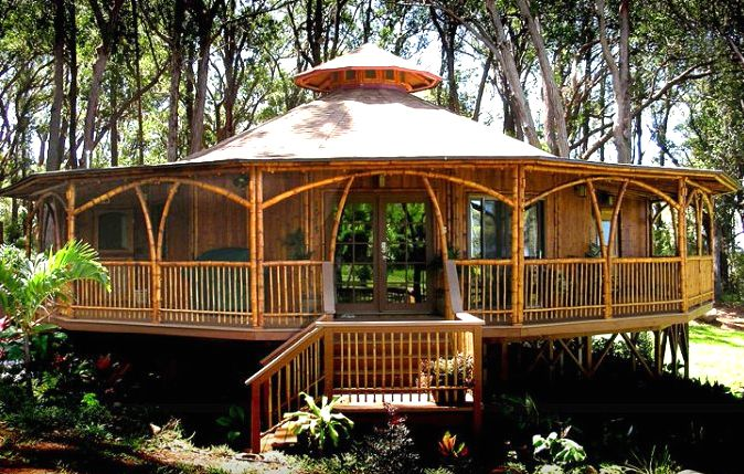 Bamboo House Nature Living Pinterest The Guest