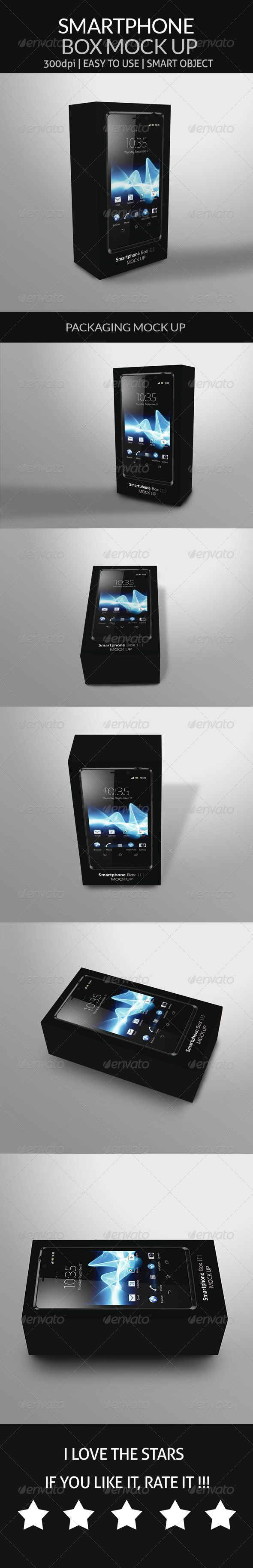 Smartphone – Box Mock Up http://graphicriver.net/item/smartphone-box-mock-up/8748241 #smartphone #mockup #box #android #tab