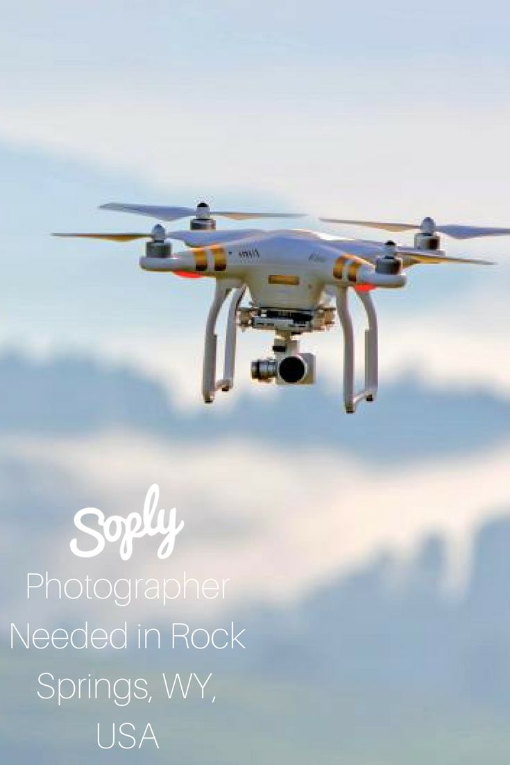 #Photographer needed for a #drone/ #aerial #photoshoot near #Rock Springs, Wyoming,, USA. See the #photography job and apply by clicking the pin!