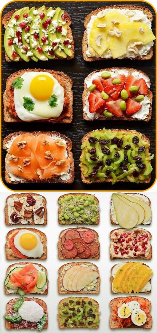 Разнообразие бутербродов