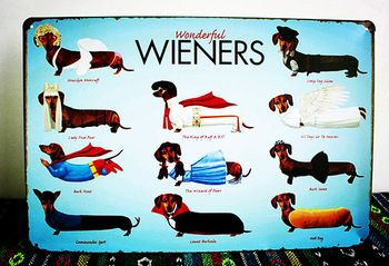 Retro Tin Sign Wieners Pub Bar Restaurant Home Wall Decor Metal Art Poster 20*30 cm HLD18 Free Shipping