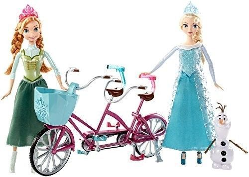 Frozen Musical Bicycle Disney Playset NEW Girls Olaf Toys Gifts Dolls Anna Elsa #FrozenMusicals