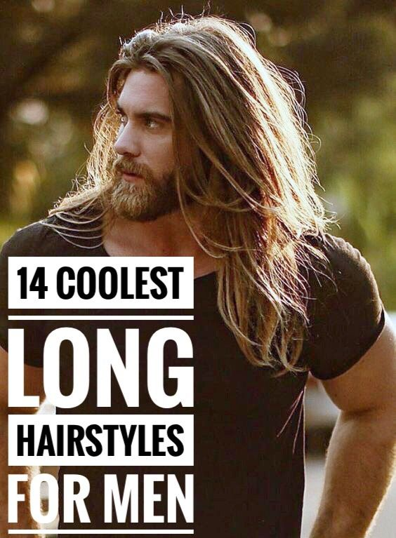 14 Coolest Long Hairstyles for Men