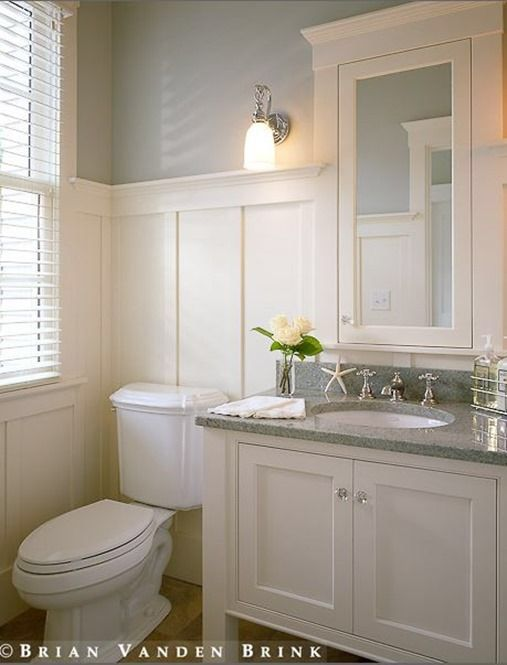 Contemporary bungalow bath