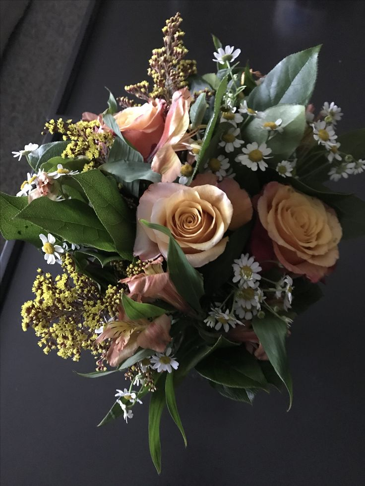 June's Bouquet - my year of flowers from Kyle, June 2017