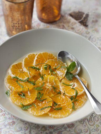 Recette de soupe de clémentines au miel et romarin
