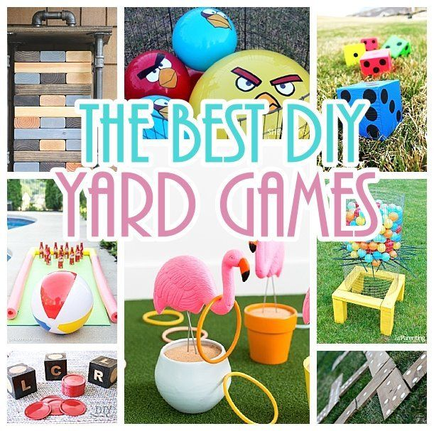 Need some REALLY FUN Do it Yourself Yard Games for your upcoming cookout?  Boy have you hit the jackpot, friend.  These are all SO clever and creative.  I hope you have your camera c…