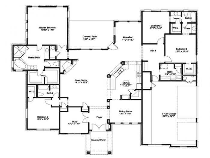 Jimmy Jacobs Homes Floor Plans