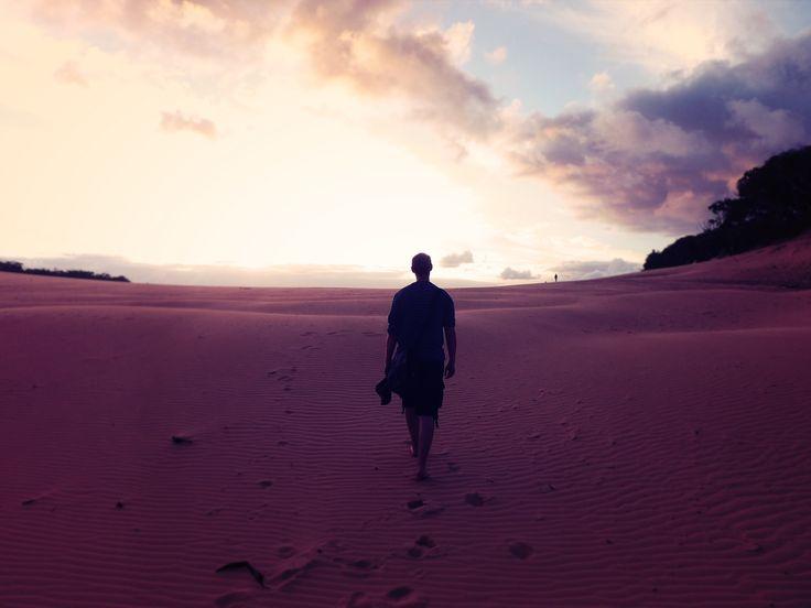 Carlo Sandblow, Rainbow Beach