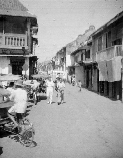 Pasar Blaoeran  van Surabaya, Indonesië (1950)