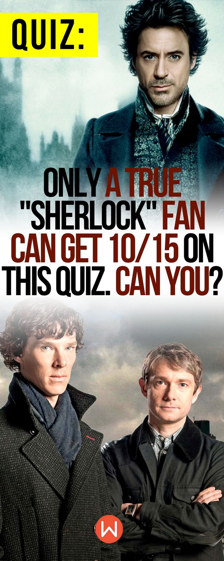 """Quiz Only A True """"Sherlock"""" Fan Can Get 10/15 On This"""