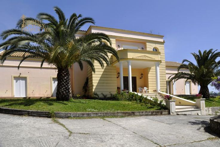Impressive, sea view villa for sale in Viros, central Corfu  From: http://corfuluxuryproperties.com/property/impressive-sea-view-villa-for-sale-with-guest-apartment-in-viros-central-corfu/