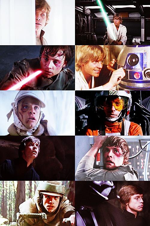 Luke Skywalker the best star wars chacter