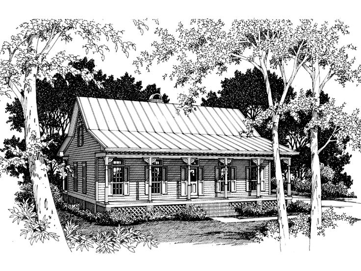 243 best images about house plans on pinterest house for Acadian cottage house plans