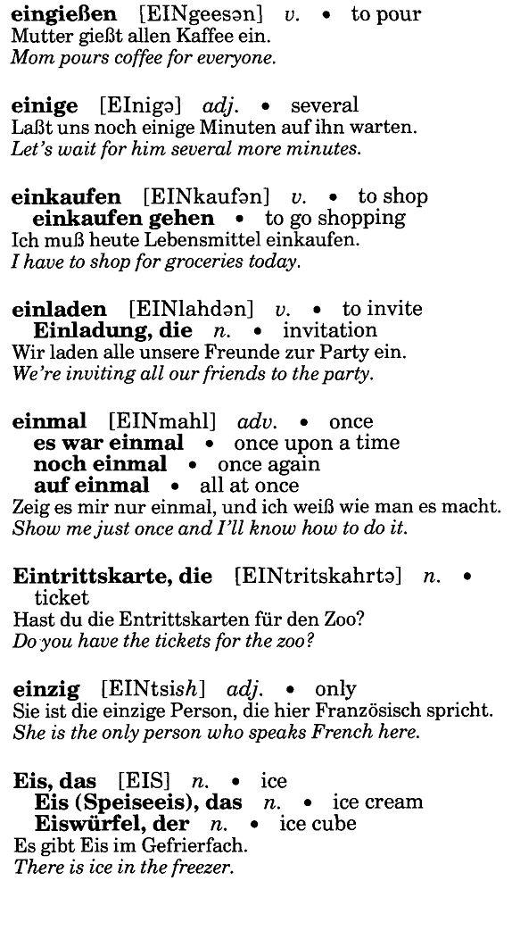 52 besten vocabtrainer bilder auf pinterest | deutsch lernen, Einladungen