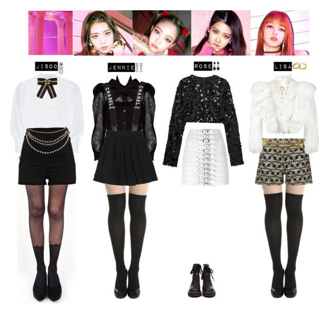 Blackpink Outfit Ideas: BLACKPINK - AS IF IT'S YOUR LAST💙 ️💜💛💚💖 In 2019