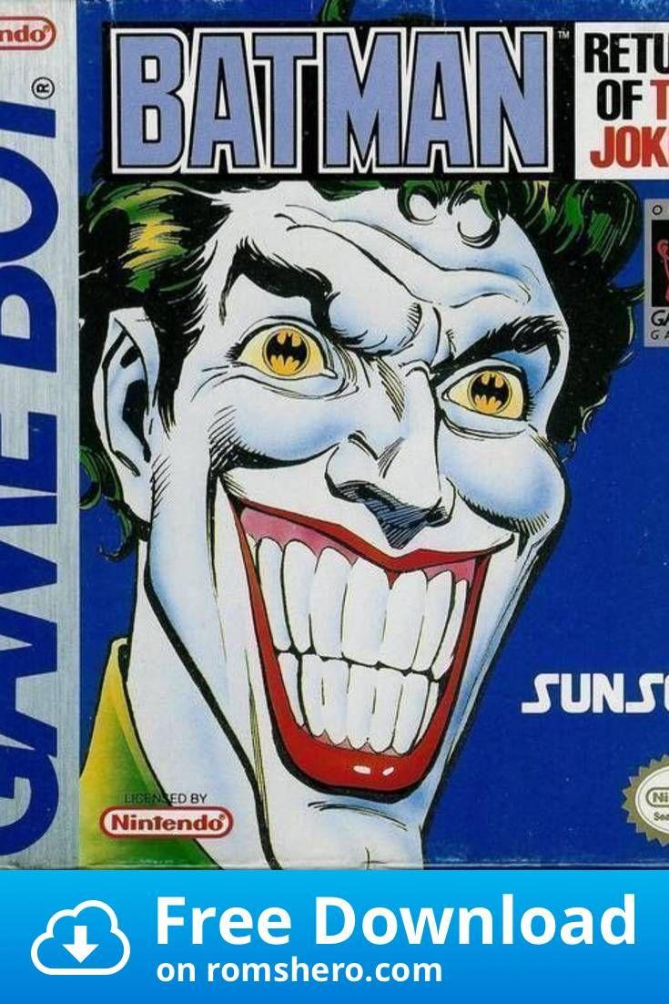 Download Batman Return Of The Joker Gameboy (GB) ROM