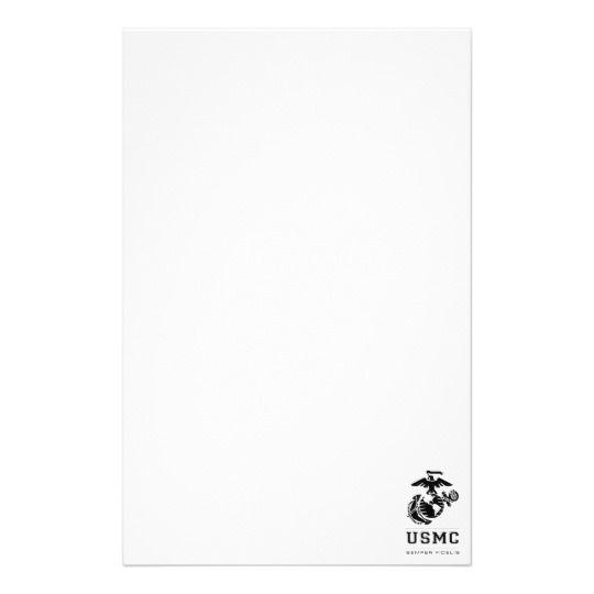 USMC Semper Fidelis [Semper Fi] Stationery