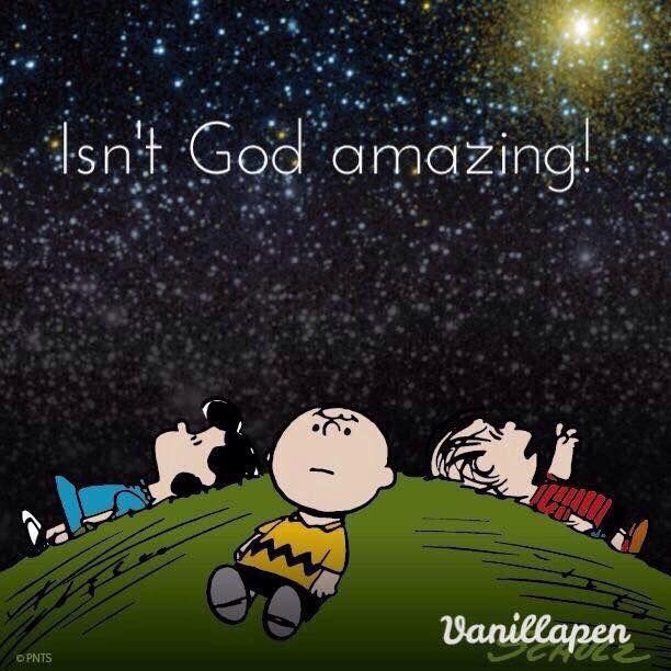 GOD - Charlie Brown - Nancy - Linus