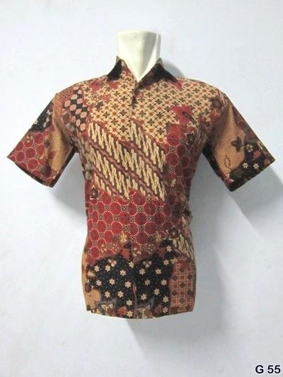 KODE G55 | IDR 70.000 | Bahan : katun prima, batik sablon kombinasi | Size M, L, XL | Hotline : 081333303545 | BB Pin 2128117C.