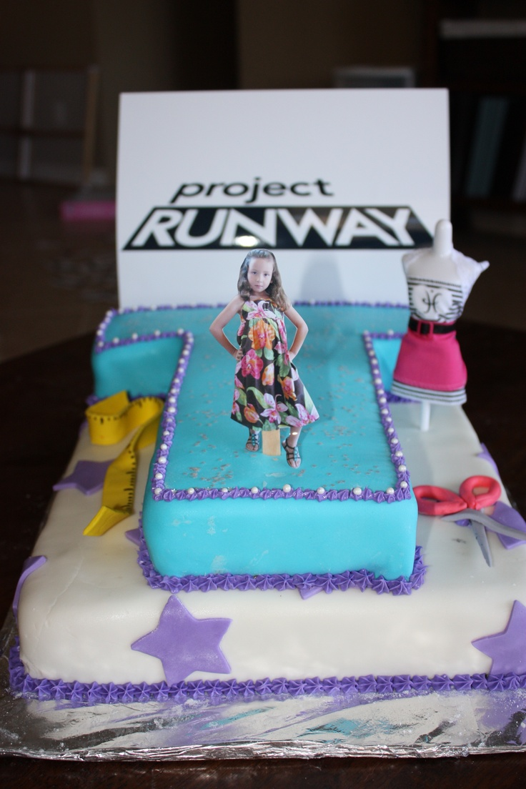 Project Runway Cake Cakes In 2019 Fashion Show Party