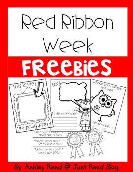 Here are 5 fun FREE Red Ribbon Week activities to tie into Halloween.  ENJOY!