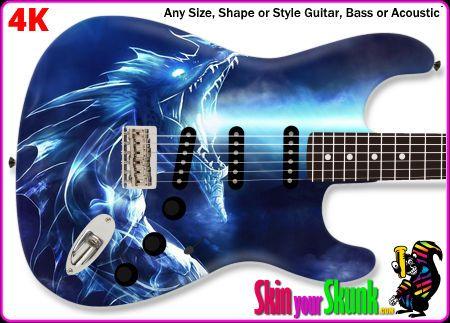 Buy Guitar Skin Dragon Light