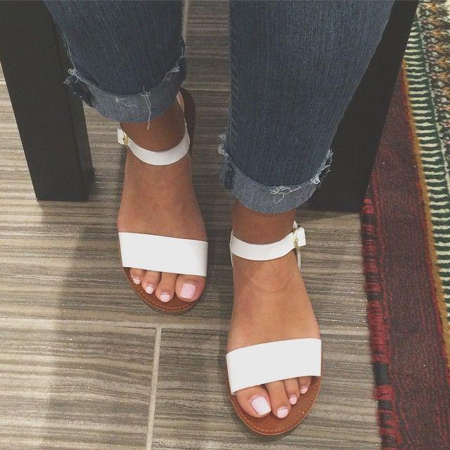 Steve Madden Donddi Leather Sandals