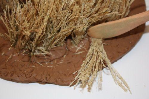 Tutoriel: décoration de crèche, comment faire un petit champ de blé