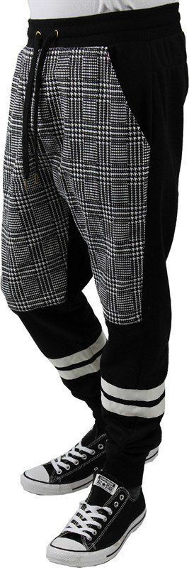 Drop Crotch jogger pants 3 tone Men from wholesalela@yahoo.
