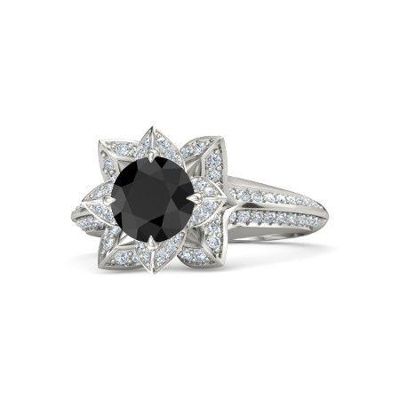 Warna cincin berlian hitam membuat kesan yang berbeda dibandingkan warna-warna yang biasa digunakan oleh cincin berlian lainnya, dimana mancarinya?