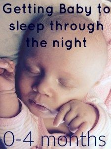 The Babywise method and how it got our daughter to sleep through the night by 7 weeks!