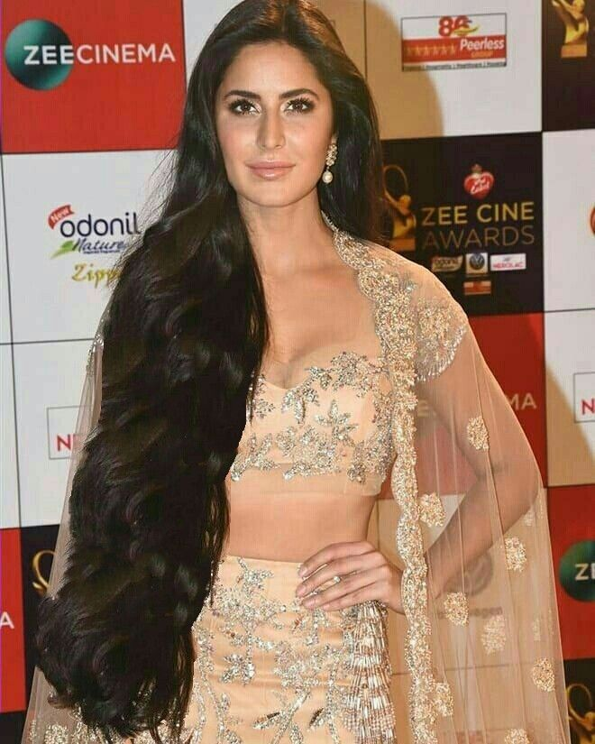 Katrina Kaif Rapunzelized By Hairluster Long Indian Hair Long Hair Styles Long Hair Girl